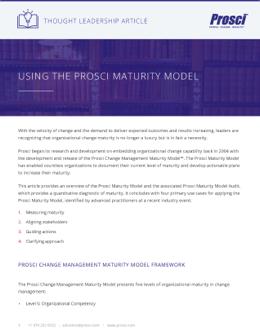 Using-Prosci-Maturity-Model-Final